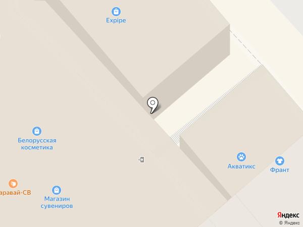 Магазин хозтоваров на карте Красногорска