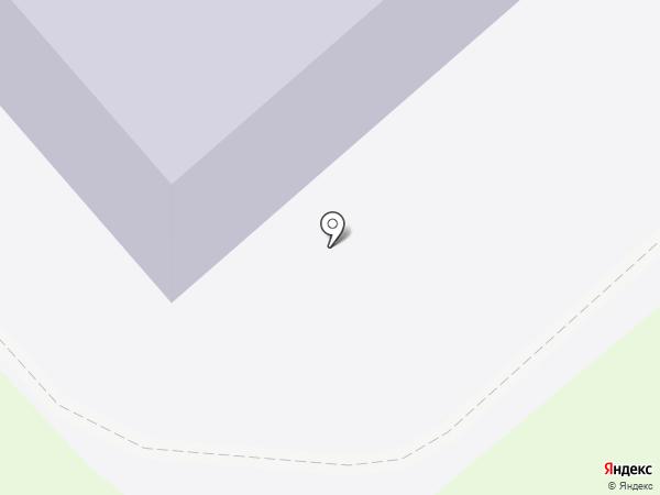 Средняя общеобразовательная школа №10 с углубленным изучением отдельных предметов на карте Красногорска