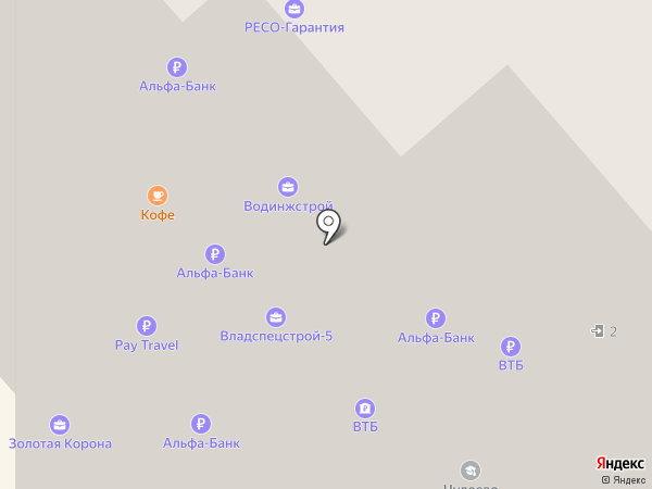 Банкомат, Альфа-банк на карте Красногорска
