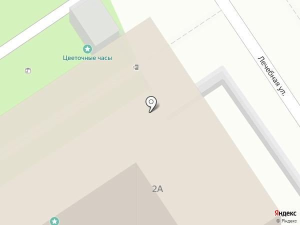 Маяк на карте Анапы