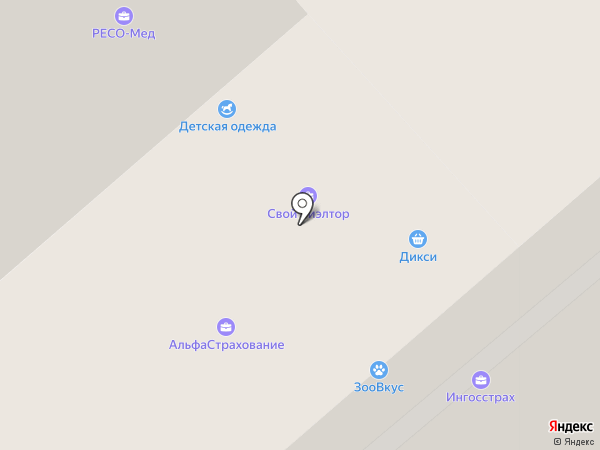 РОСНО-МС на карте Красногорска