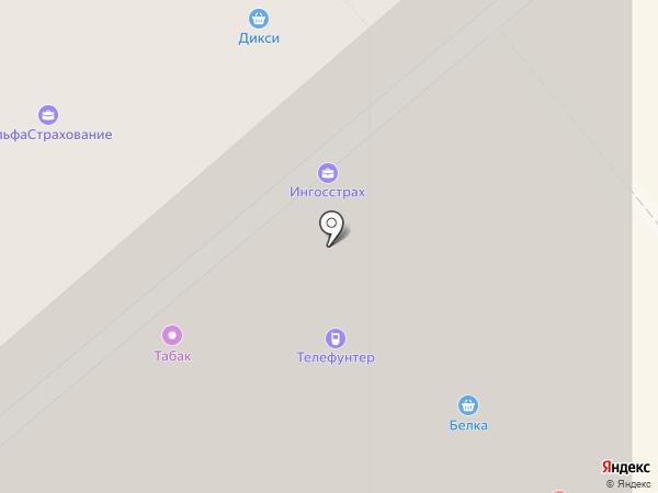 Остров чистоты на карте Красногорска