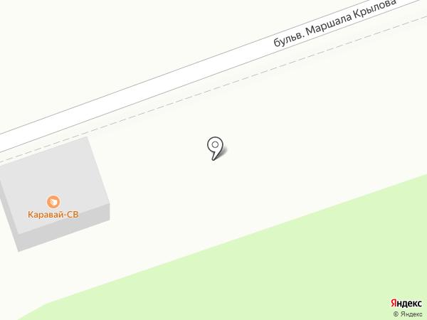 Каравай СВ на карте Одинцово