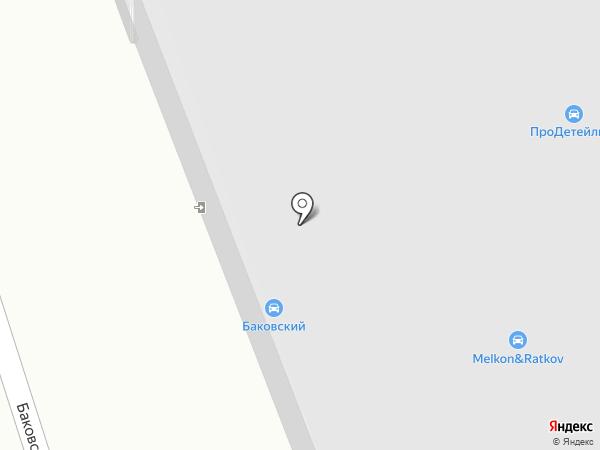 Баковка-5 на карте Одинцово