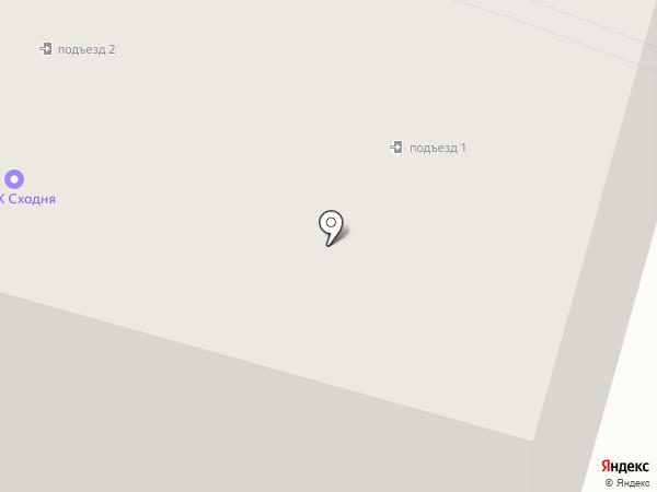ЖСК Сходня-2, ПК на карте Химок