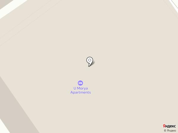 Мирабель на карте Анапы