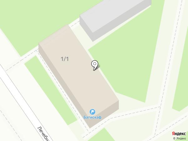 Батискаф на карте Анапы