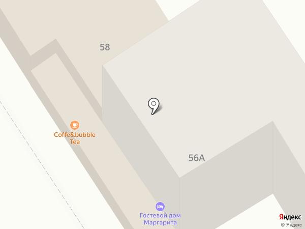 Маргарита на карте Анапы