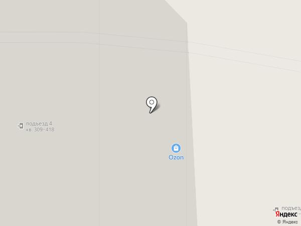 Меридиан на карте Одинцово