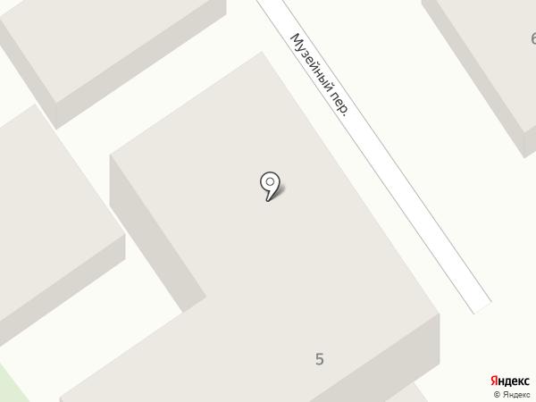 Де Люкс на карте Анапы