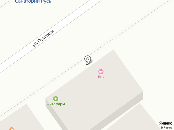 Saloon AMIGOS на карте Анапы