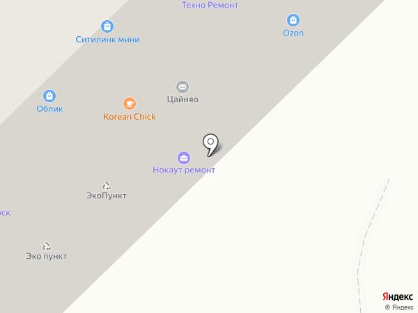 JOY фитнес на карте Красногорска