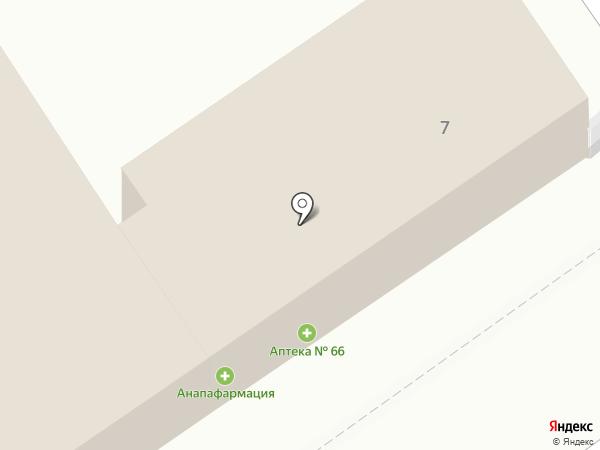 Магазин женской одежды на карте Анапы