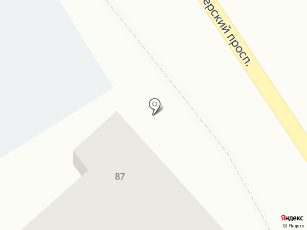 Магазин детского питания на карте Анапы