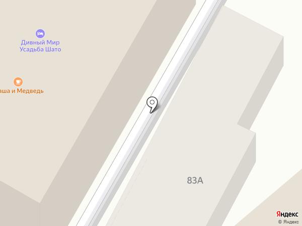 Шихан на карте Анапы