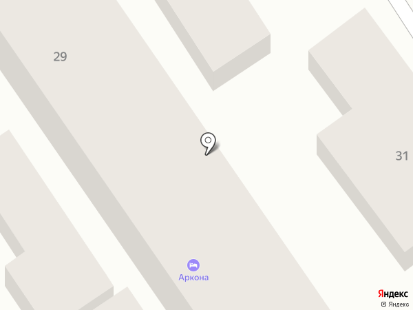 Аркона на карте Анапы