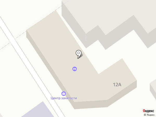 Центр занятости населения г. Анапы на карте Анапы