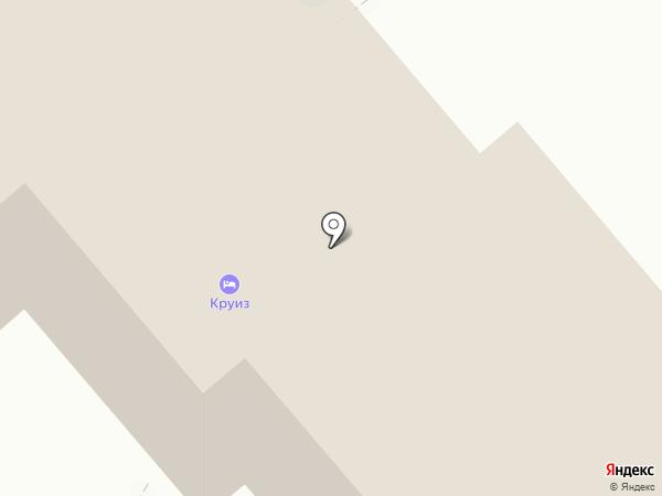Гранд Прибой на карте Анапы