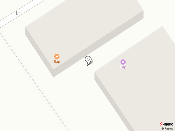 Блинная на карте Анапы