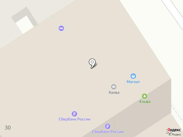 Apartments na Krepostnoy на карте Анапы