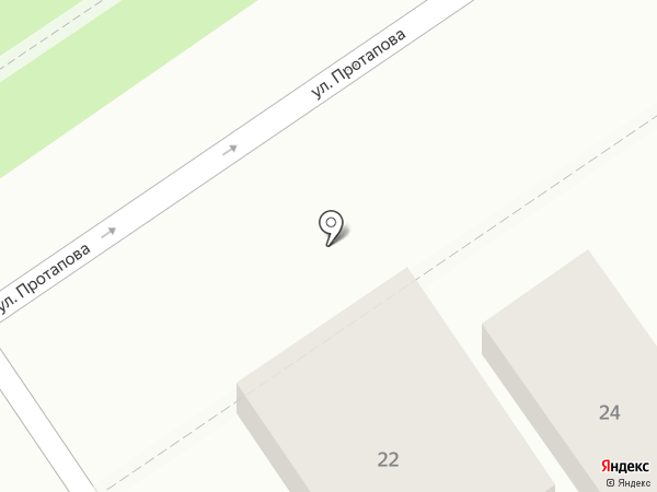 Гостевой дом на карте Анапы