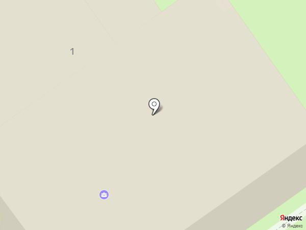 Бульвар на карте Анапы