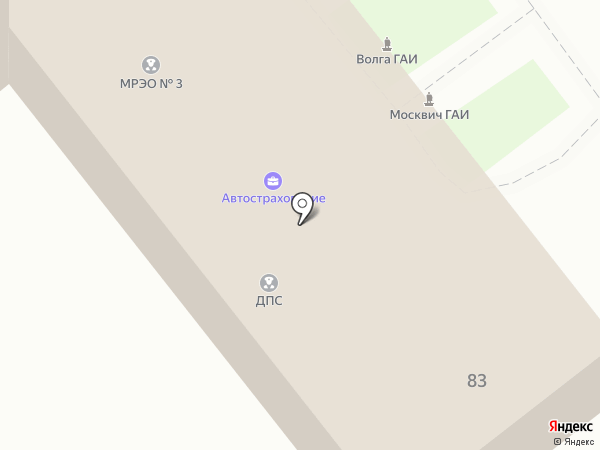 Анапа БДД на карте Анапы