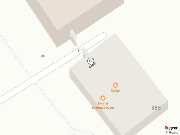 Бухта императора на карте Анапы