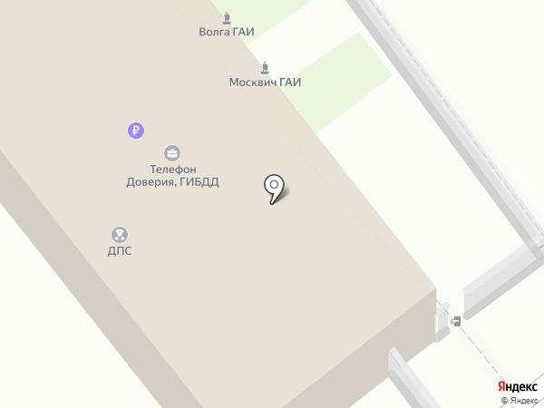 Отдельная рота ДПС ГИБДД на карте Анапы