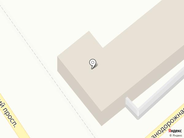 Партнер 123 на карте Анапы