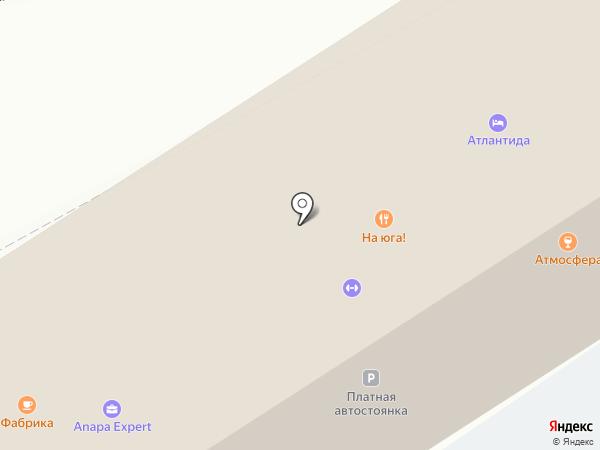 Евразия на карте Анапы