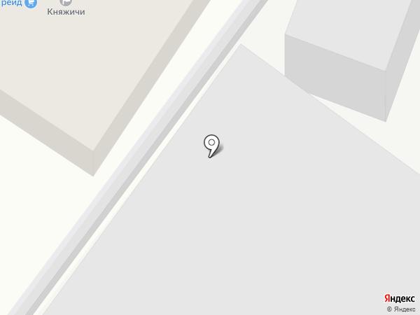 Тегра Восток на карте Одинцово
