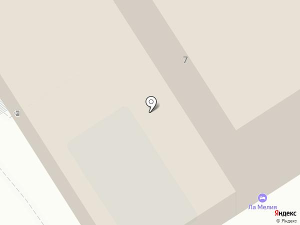 La Мелия на карте Анапы