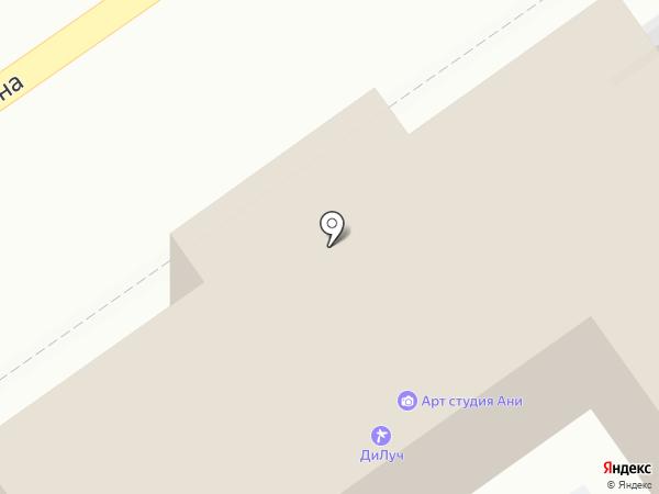 ДиЛуч на карте Анапы