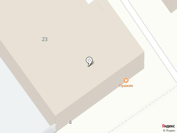 У Пушкина на карте Анапы