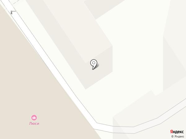 Застава на карте Анапы