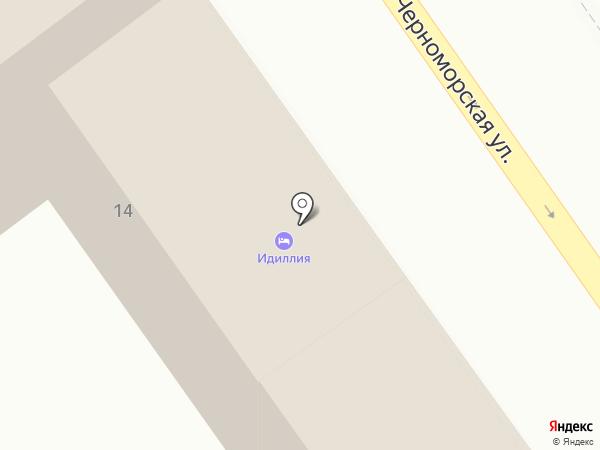 Идиллия на карте Анапы