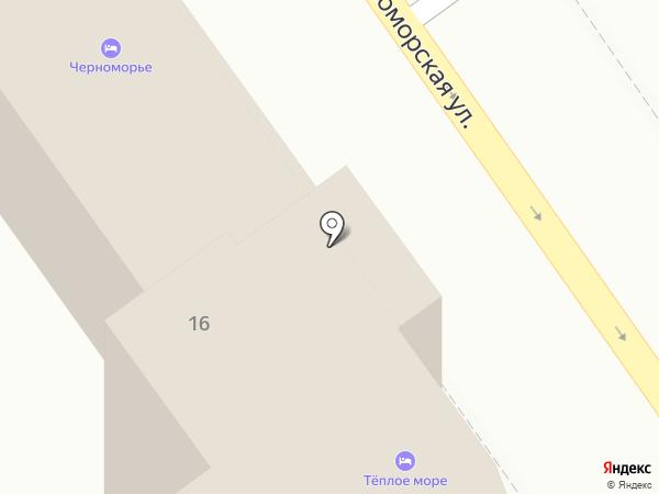 Мишель на карте Анапы