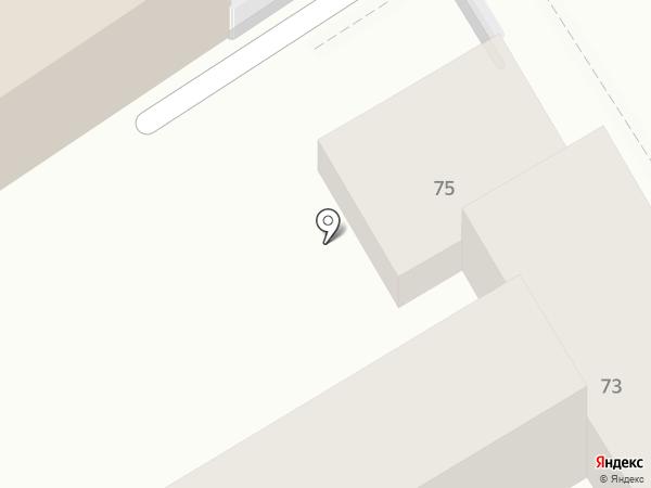 Гостевой дом №73 на карте Анапы