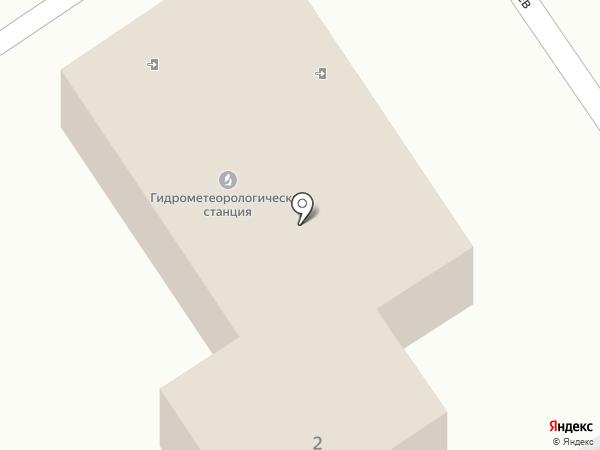 Морская гидрометеорологическая станция на карте Анапы