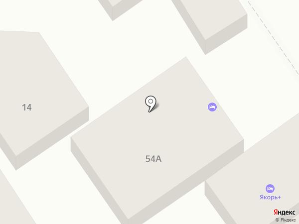 Продуктовый магазин на ул. Ивана Голубца на карте Анапы