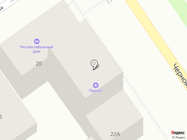 Респектабельный дом на карте Анапы