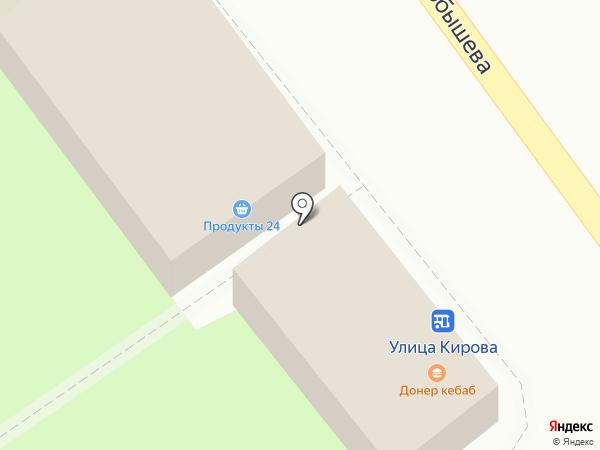 Магазин продуктов на карте Красногорска