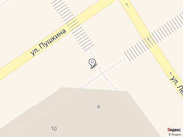 Катюша на карте Анапы