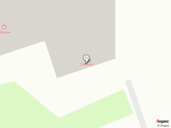 Оливия на карте Одинцово