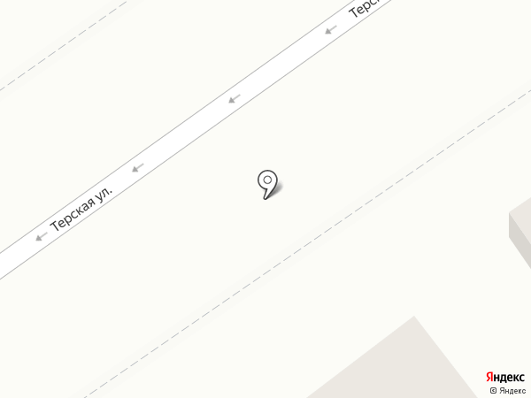 На Терской 28 на карте Анапы