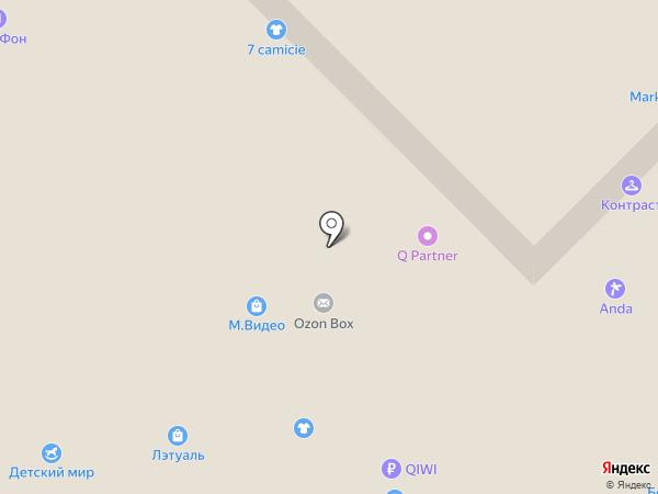 Ларес на карте Красногорска