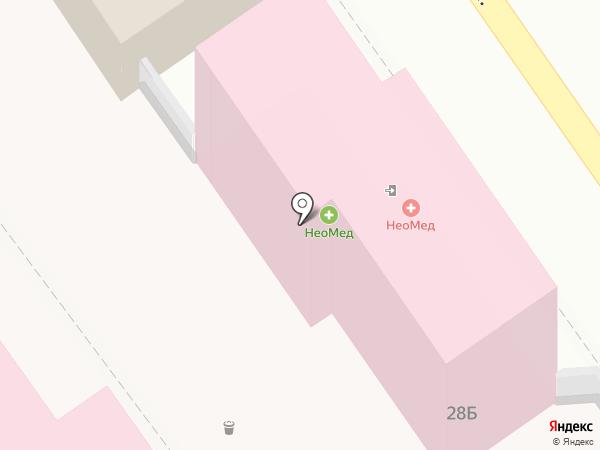 АМДЦ на карте Анапы