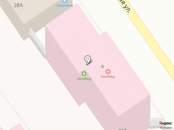 НеоМед на карте Анапы