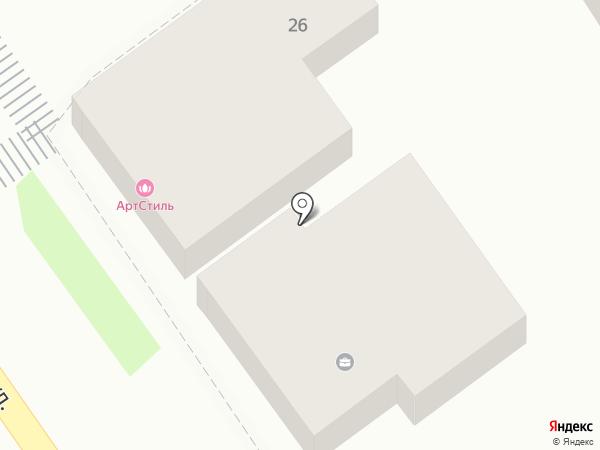 Арт-Стиль на карте Анапы